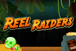Reel Raiders online slots by PocketWin mobile casino