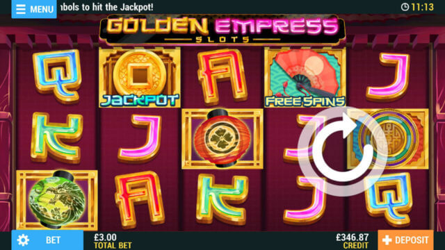Golden Empress Slots Pocketwin Mobile Casino
