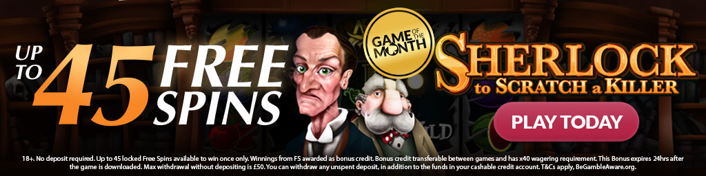NEW GAME ALERT: Sherlock: To Scratch a Killer!