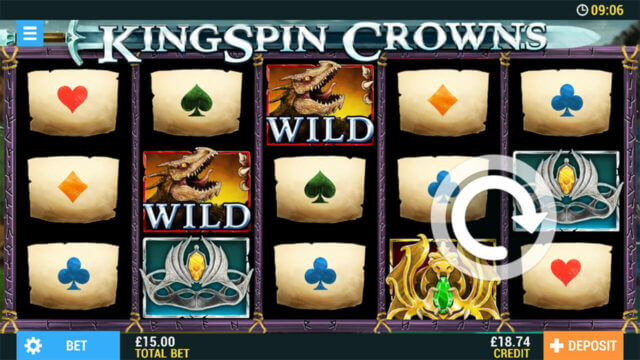 Kingspin Crowns Pocketwin Mobile Casino