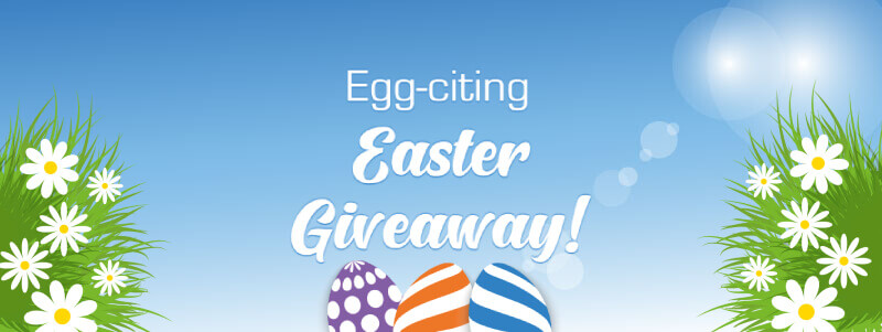 £7,000 worth of bonuses up for grabs in our Easter Egg-citement Giveaway!*