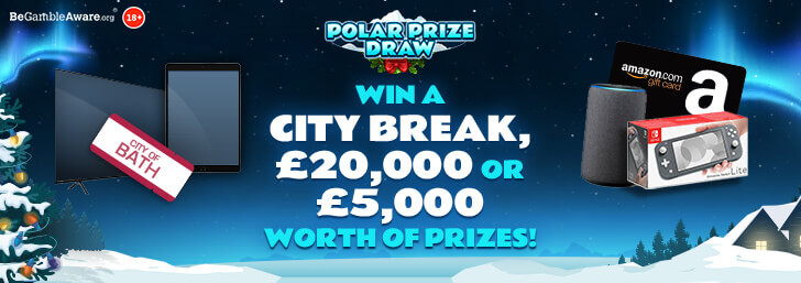 Win a Getaway for Two with PocketWin's Polar Prize Draw!